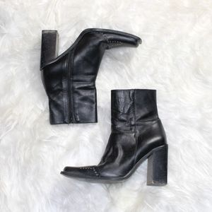 Vintage 90s Grunge Ankle Boots